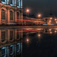 Отражение вечерних огней :: Valeriy Piterskiy