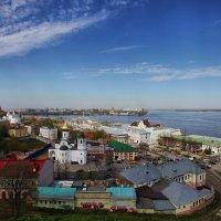 Про город на Волге :: Олег Кашаев
