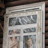 Окно старого дома :: Михаил Удалов