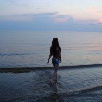 Вечером на море :: Ольга Мореходова