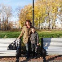 с сынулей в парке :: тамара антошкина