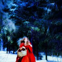 зимняя история о Красной шапочке :: Жанна Самуйлова