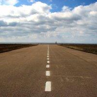 Дорога в небо над морем :: Анна Выскуб