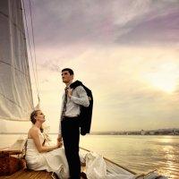 Свадебная фотосесия на яхте :: fg-studio ФотоГрафика