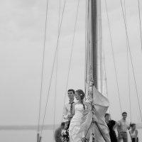 Свадебная фотосессия на яхте :: fg-studio ФотоГрафика
