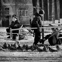 после школы :: Татьяна Соловьева