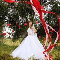 бело-красная :: Ольга Митрясова