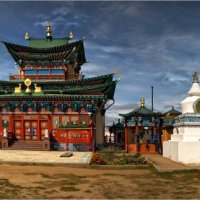 Дворец Хамбо ламы Итигэлова. :: Виктор Перякин