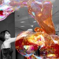 Шоу мыльных пузырей :: ID@ Cyber.net