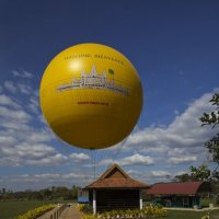 на большом воздушном шаре... :: Yulia Golub