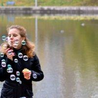 Мыльные пузыри :: Анна Носова
