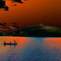 Оранжевый вечер :: Владимир Архипов