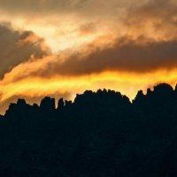 Закат на гребне Дракона :: Ольга Чиж