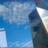 Небо над N.Y. :: Владимир Деркач