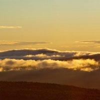 Рассвет над облаками :: Ольга Чиж