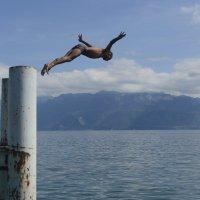 Прыжок :: Сергей Адоевцев
