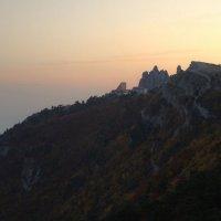 закат на Ай-петри :: Николай Ковтун