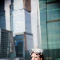 Свадебная прогулка у Москва Сити :: Ольга Блинова