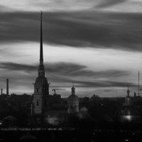 Петропавловка на закате. :: Николай Гонтарь