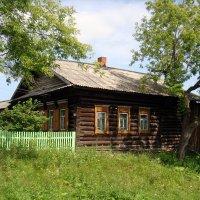 Деревенский дом. :: Елизавета Успенская