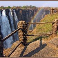 Замбия. Водопад Виктория :: Евгений Печенин