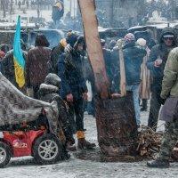 Снегопад в Киеве :: Юрий Матвеев