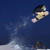 сноуборд (над купалами) :: юрий макаров