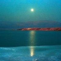 Израиль. Мёртвое море. Восход луны. :: Игорь Герман