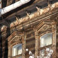 Резные окна :: Юлия Левикова