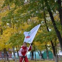 Мальчик с флагом :: Виктория Гавриленко