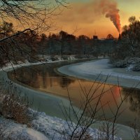 Владимир Матва - Река Преголя зимой
