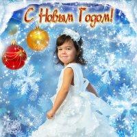 Танго со снежинками... :: Olga Pronina