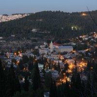 Окрестности Иерусалима ночью :: Сергей Маштанов