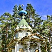 Часовня Рождественно-Богородичного монастыря. о.Коневец. :: Виталий Половинко