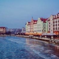Калининград, вид рыбной деревни :: Александр Шмелёв