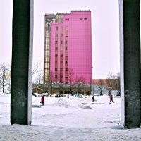 розовый... дом :: Александр. Самара Сорокин