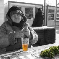 пиво с петрушкой :: Сергей Демянюк