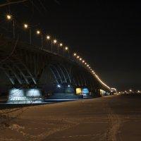 мост Саратов Энгельс :: Андрей ЕВСЕЕВ