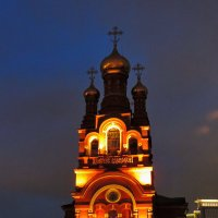 Красное село. Тихий зимний вечер. :: Геннадий Александрович