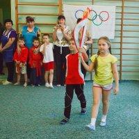 Самый юный факелоносец в Воронеже :: Дарья Казбанова