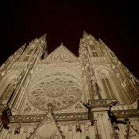 Прага, собор Святого Вита, ночью. 3 :: Владимир Барсуков