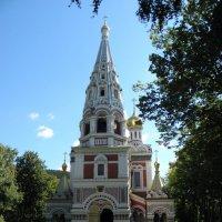 Русская церковь в с.Шипка :: Елена Миронова