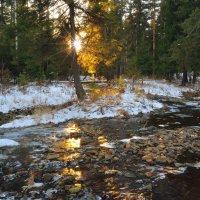 Зимняя речка :: vladimir Bormotov