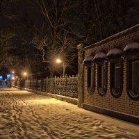 Петровская ночью :: Константин Бобинский