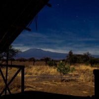 Килиманджаро под звездами :: Александр Сергеевич П.