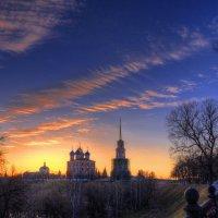 Раннее утро, ранней весной в Рязанском кремле. :: Nikita Volkov