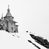 Православный Храм Святой Троицы в Антарктиде :: Юрий Казарин