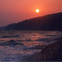 Закат над морем :: Олег Фомин