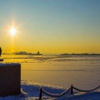 Петровская гавань в январе :: Михаил Бояркин