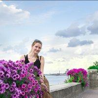 Цветы и облака :: Олег Карташов